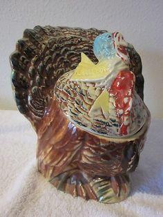 Turkey Cookie Jar made by McCoy