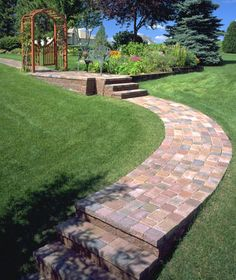 Willow Creek Cobblestones From Patio Town In Harvest Blend Colors. This Is  A Forerunner For
