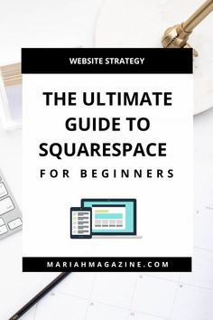 Thinking about (or have already decided on) using Squarespace for your website? Then you're in the right spot! Read on to see my beginner's guide to using Squarespace! // Mariah Magazine Web Design Tips, Seo Strategy, Community Manager, Describe Yourself, Influencer Marketing, Management Tips, Social Media Marketing, Online Business, Improve Yourself