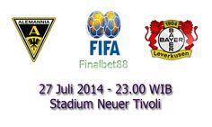 Prediksi Bola Aachen Vs Bayer Leverkusen 27 Juli 2014