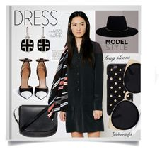"""""""Long Sleeve Dress"""" by jahkun ❤ liked on Polyvore featuring Equipment, Mansur Gavriel, Givenchy, Diane Von Furstenberg, Anja, Una-Home, Kenzo, Zimmermann and longsleevedress"""