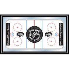 NHL Framed Hockey Rink Wall Art, Multicolor