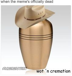 "I came up with this one but didn't think ""cremation"" was a word at first. Haha"