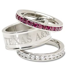 Another set of Aggie rings...