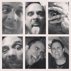 John and his amazing selfies that never get old.  XD #Skillet