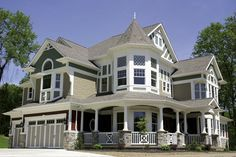Impressive Luxurious Victorian House Plan - 23167JD | Country, Northwest, Victorian, Luxury, Photo Gallery, Premium Collection, 2nd Floor Master Suite, Bonus Room, Butler Walk-in Pantry, CAD Available, Den-Office-Library-Study, MBR Sitting Area, PDF, Wrap Around Porch, Corner Lot | Architectural Designs