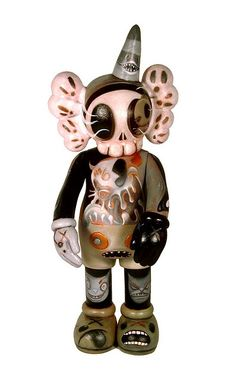 Custom Kaws Companion | Artists: Kathie Olivas and Brandt Peters