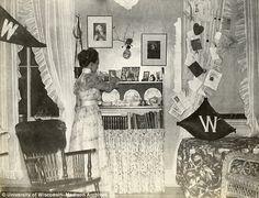Leila Bascoms's UW dorm in 1898