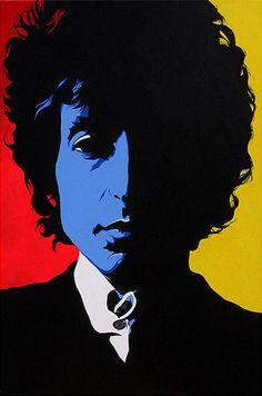 Bob Dylan, Warhol-style. Artist?
