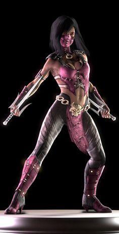Mortal Kombat X Render Stand Mileena Mortal Kombat Cosplay, Mortal Kombat Costumes, Mortal Kombat 2, Video Game Characters, Female Characters, Kung Jin, Pelo Anime, Dracula Untold, Video Games Girls