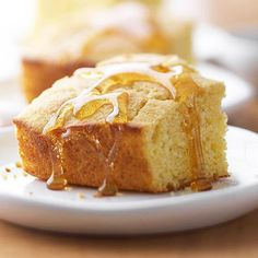 With this moist corn bread recipe, you can start the holiday cooking now! Spend less time in the kitchen and more time celebrating with friends and family thanks to this recipe: http://www.bhg.com/christmas/recipes/holiday-side-dishes/?socsrc=bhgpin122414cornbread&page=30
