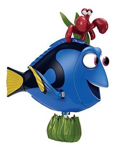 It's a Mr. Potato Head DORY! How cool is this. You can change her looks and facial expressions by changing out pieces. Too cute!
