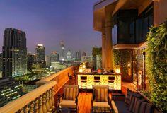 The Speakeasy - rooftop bar/restaurant - Hotel Muse