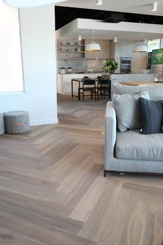 Ash Flooring, Wide Plank Flooring, Timber Flooring, Vinyl Flooring, Kitchen Flooring, Floors, Parquetry Floor, Home Panel, Tongue And Groove