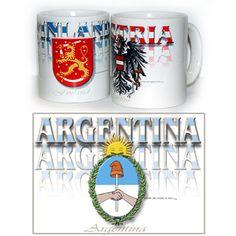 argentina design coffee mug
