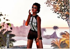 https://flic.kr/p/ttAGqi | *Damaris & Athenea* | Sunday began with a very elegant body and a perfect finish textures and signature * Look Me. This body comes in various mesh sizes and you can change their textures with simple hud it brings. I have combined with some bracelets and earrings firm Baubles! (and posts). The hair is again the firm Asset very cool for hot days. Leg tattoo podreis find exclusive Sehenzumnen and applies to the two mesh bodies and normal.    Comenzamos el Domingo con…
