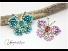 Farfalle colorate, bracciale soutache, tessitura etc