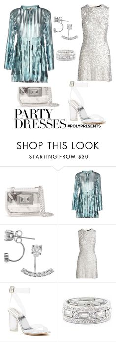 """""""#PolyPresents: Party Dresses. RAINY NIGHT OUT"""" by giddygalmvr on Polyvore featuring Steve Madden, Caban Romantic, Journee Collection, Jenny Packham, Jeffrey Campbell, Sole Society, contestentry and polyPresents"""