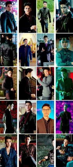 Magnus Bane s1 outfits