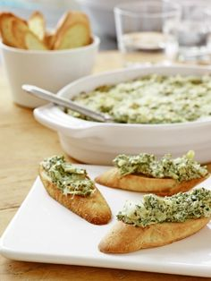 Forget the spinach dip at your next party and serve this kale-and-artichoke version instead.