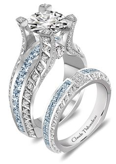 This is the one I dream of. I can't stop looking at this Claude Thibaudeau creation. It truly is the most beautiful ring I have ever seen.