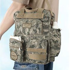 Military Daddy Diaper Bag :)