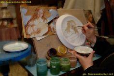 artigianato tipico, l'Aquila, ceramica tradizionale di L'Aquila