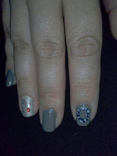 World diabetes awareness day! My nail art