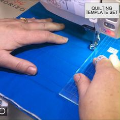 OFF Quilting Template Set - 6 Pieces Quilt like a professional right on your home sewing machine! Achieve a longarm quilting look on a tabletop sewing machine with the Quilting Template Set. Quilting Rulers, Quilting Tools, Longarm Quilting, Free Motion Quilting, Machine Quilting, Quilting Projects, Sewing Projects, Arm Machine, Quilting Ideas