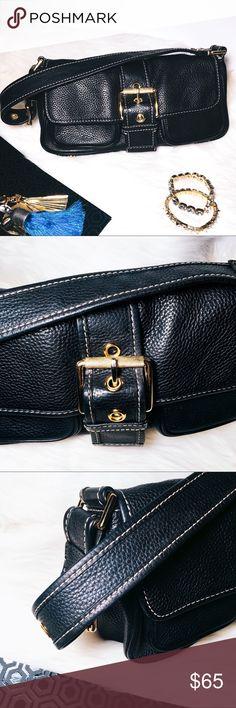 738485f12cc85d Michael Kors Leather Bag Michael Kors Leather Shoulder Bag Stylish shoulder  bag with great organization.
