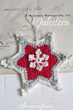 Great No Cost Crochet Hat christmas Tips You have to have an understanding of the several quantities of crocheting, just like devices there i Crochet Stars, Knit Crochet, Interchangeable Knitting Needles, Crochet Christmas Decorations, Knitting Gauge, Summer Knitting, Christmas Star, Christmas Knitting, Blog