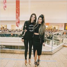 Kendall and Kylie Jenner.