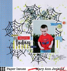Paper Issues: Scrap Soup Challenge - November! Mary Ann Jenkins