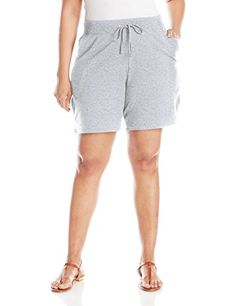 Women's Athletic Shorts - Just My Size Womens XTemp French Terry Pocket Short *** Check this awesome product by going to the link at the image. (This is an Amazon affiliate link)