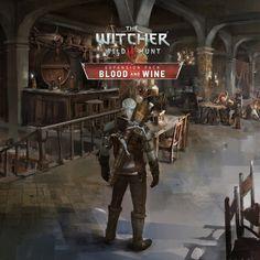 The Witcher Wild Hunt – Blood & Wine Concept Art by Andrzej Dybowski The Witcher Wild Hunt, The Witcher 3, Layers Of Fear, The Witcher Books, Witcher Art, Concept Art World, Art Station, Game Design, Game Art