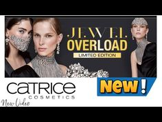 """""""Jewel OVERLOAD"""" Catrice L.E 2020 - YouTube Channel, Jewels, Youtube, Movies, Movie Posters, Jewerly, Films, Film Poster, Cinema"""