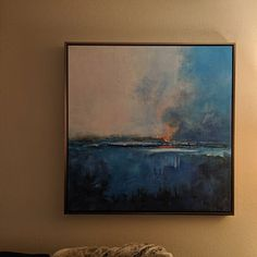 Large Cloud Abstract Art Painting,Large Abstract Painting,Sky Abstract Oil Painting on Canvas,Blue Abstract Art Canvas Painting Blue Abstract Painting, Abstract Canvas Art, Oil Painting On Canvas, Abstract Paintings, Black Painting, Seascape Art, Large Wall Canvas, Ocean Canvas, The Artist