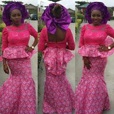 Check Out This Lovely Ankara Skirt and Blouse Style - DeZango Fashion Zone