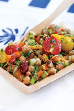 Mixed bean salads - great vegetarian-friendly picnic or potluck menu item, alive.com