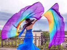 Veil Dancing - Bellydance - Bellydancer Isis Wings #dansöz #dance #costume