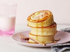 Get Fluffy Japanese Pancakes Recipe from Food Network