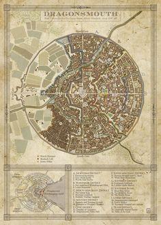 Dragonsmouth Map