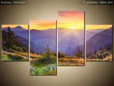 Tlačený obraz Lúka v horách 120x70cm 1868A_4AA