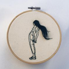 Fantastic Hairstyles Embroideries by Sheena Liam – Fubiz Media