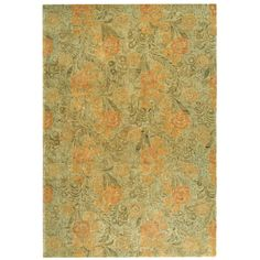 Martha Stewart Arcadia Woodland Green Wool Rug (8' 6 x 11' 6) | Overstock.com Shopping - Great Deals on Martha Stewart 7x9 - 10x14 Rugs