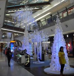 """Christmas in Malaysia looks pretty cool with this decoration at """"The Gardens Mall"""" in Kuala Lumpur"""