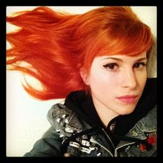 When you just couldn't tell what was more on point, Hayley's hair or her selfie game.   23 Photos That Prove Hayley Williams Is A Hair Goddess
