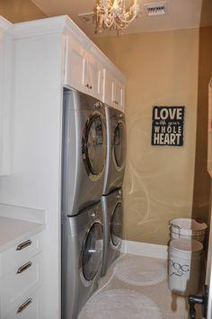 Laundry Room at www.kelleymorrison.com