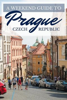 Prague Weekend Guide Pin
