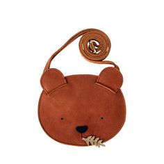 Britta Leather Bag - Bear Cognac - Another! Leather Diy Crafts, Leather Craft, Handmade Leather, Vintage Leather, Leather Purses, Leather Wallet, Leather Totes, Leather Bags, Leather Bag Pattern